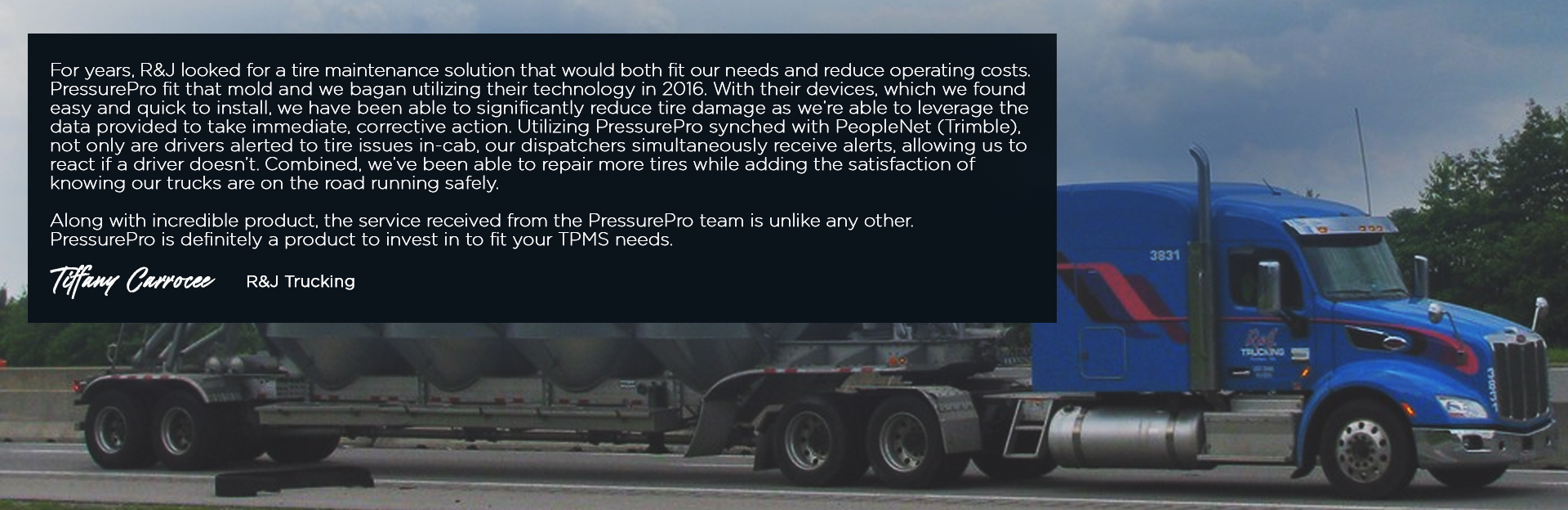 TPMS For Commercial Vehicles