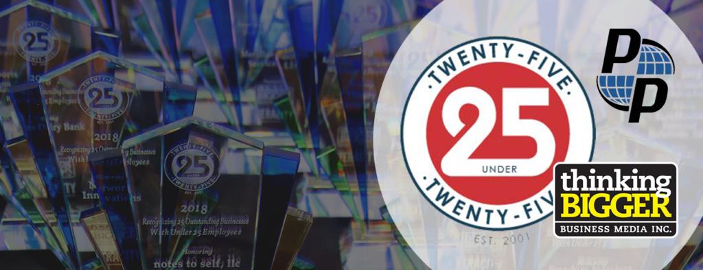 PressurePro Announced as 25 Under 25 Recipient