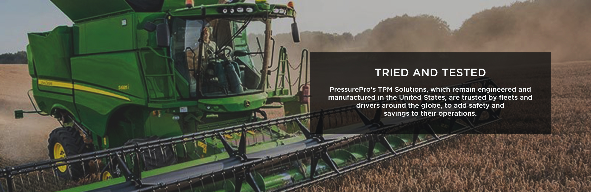 TPMS for Agriculture Equipment